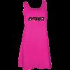 magenta tank dress