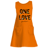 orange tank dress