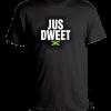 kids black printed t-shirt