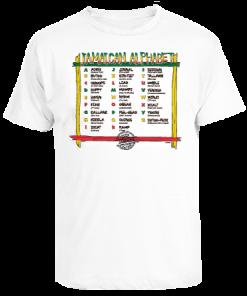 kids white printed t-shirt