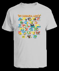 oxford ash printed kids t-shirt