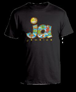 black printed toddler t-shirt